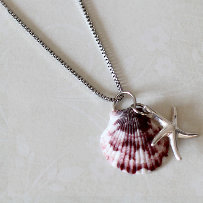Make Your Own Necklaces And Jewelry At Home: Make Your Own Seashell Jewelry