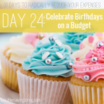 Next time you're planning a birthday bash, try one or ALL of these 5 creative ways to celebrate on a budget. Anyone can do #2!