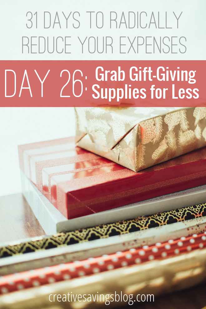 From saving at the store, to repurposing everyday items around your home, these 6 thrifty tips will help you save on cards, gift tags, wrapping paper, and more!