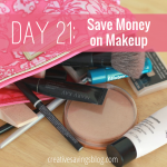 Day 21: Save Money on Makeup