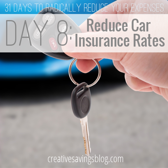 Day 8: Reduce Car Insurance Rates