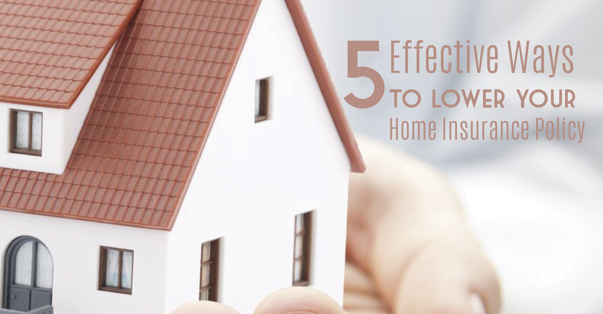 how to get lower home insurance