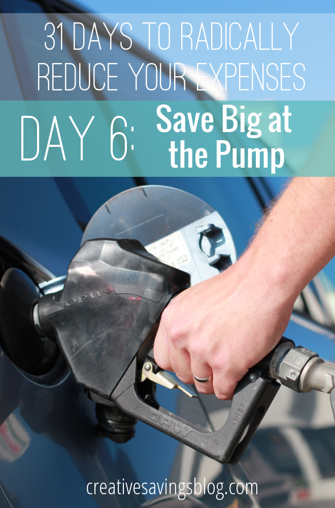 Try one of these 6 strategies to save at the pump and maximize each tank of gas to it's fullest potential!