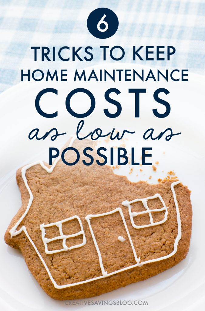 They say when you buy a house you need to budget twice as much as you *think* you need for repairs. It's so true!! I had a sewer pipe break, my furnace stopped working, and then my waterline froze ALL IN THE SAME WEEK. This post about home maintenance tips is exactly what I needed to get my housing budget back on track and avoid another disaster! #homemaintenance #saveonhomemaintenance #homemaintenancetips #homemaintenancesavings