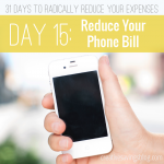 Stop paying for expensive phone plans and try one of these foolproof methods to reduce your bill. #3 saved us almost 25%!