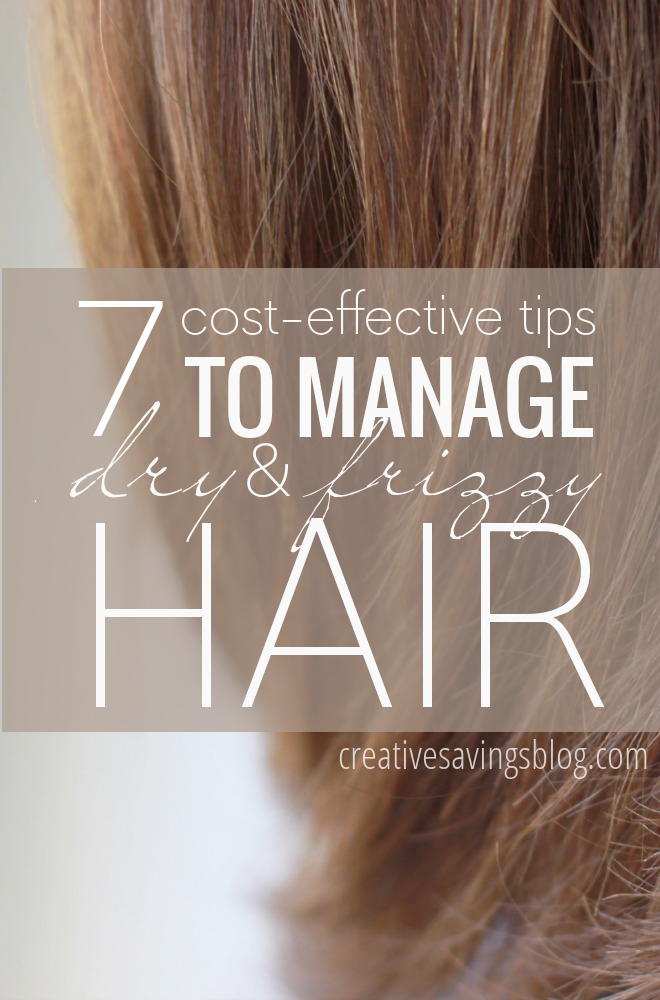 I have had unmanageable, frizzy hair for as long as I can remember (don't get me started on the teenage pictures on my mother's wall!). Despite all the hype and marketing of anti-frizz products, nothing has ever worked! Little did I know I only needed to practice these 7 frizzy hair tips to manage my mane. The best part? They're cost-effective AND they actually work! #frizzyhair #frizzyhairtips #frizzyhairsolutions #dryhair #dryhairtips