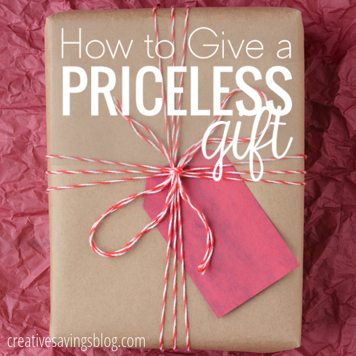 How to give a priceless gift priceless gift ideas negle Image collections
