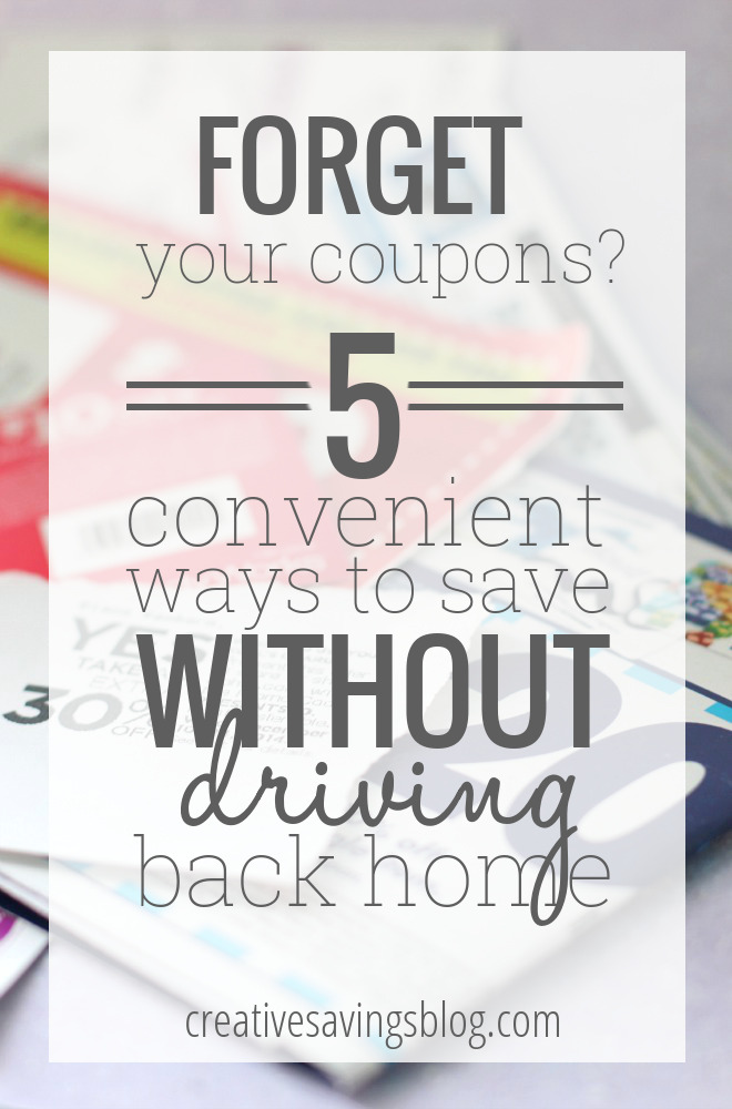 I hate it when I get to the store only to discover that I left my coupons sitting on the counter! I always wonder if it's worth the time, effort, and gas money to go back and pick them up. I love what this woman does instead, Genius! #forgotmycoupons #digitalcoupons #moneysavingtips #howtosaveongroceries #couponing #couponapps