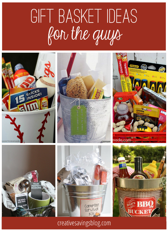 Diy gift basket ideas for everyone on your list from camping kits to handy man buckets you will love these creative gift negle Image collections