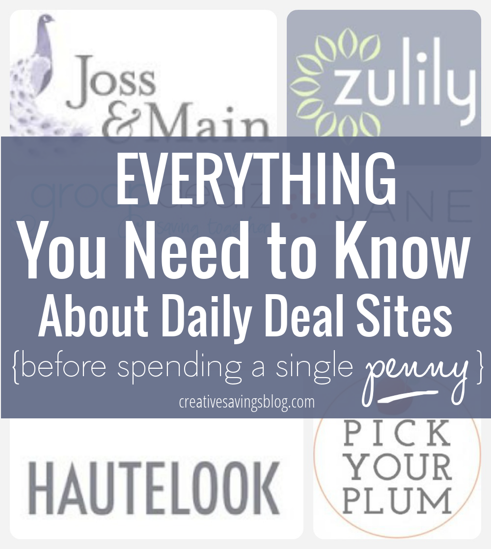 With more daily deal sites popping up every day, it`s hard to know which ones to buy from and what to ignore. Here`s everything you need to know about shopping daily deal sites, and whether or not they are truly worth the hype!
