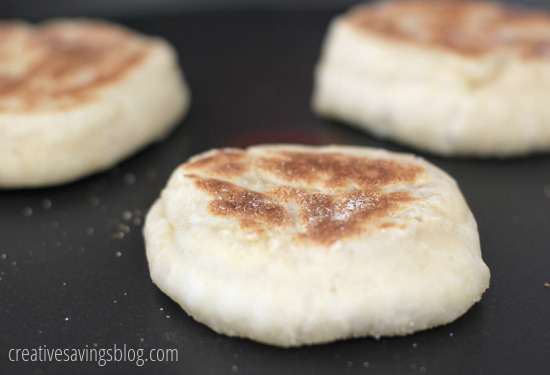 Homemade English Muffins | Creative Savings