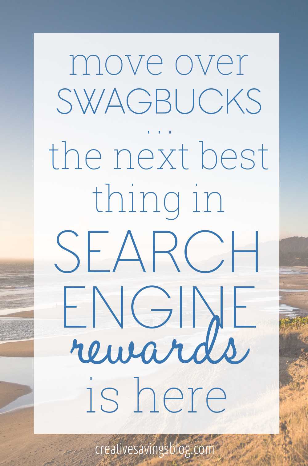 If you've ever been frustrated with the search capabilities of Swagbucks, but still want to earn Amazon gift cards each month, there's a new program that you MUST try! Bing search engine rewards combines the best of both worlds, and gives you the biggest bang for your reward buck!