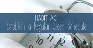 Tired of being tired? Join me in establishing a regular sleep schedule, and consistently get a good night's rest EVERY evening. Your productivity will skyrocket with the structure of this new routine!
