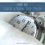 Habit #3: Establish a Regular Sleep Schedule