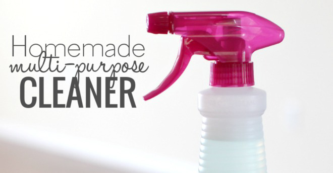 Homemade Multi-Purpose Cleaner | DIY Cleaning Spray