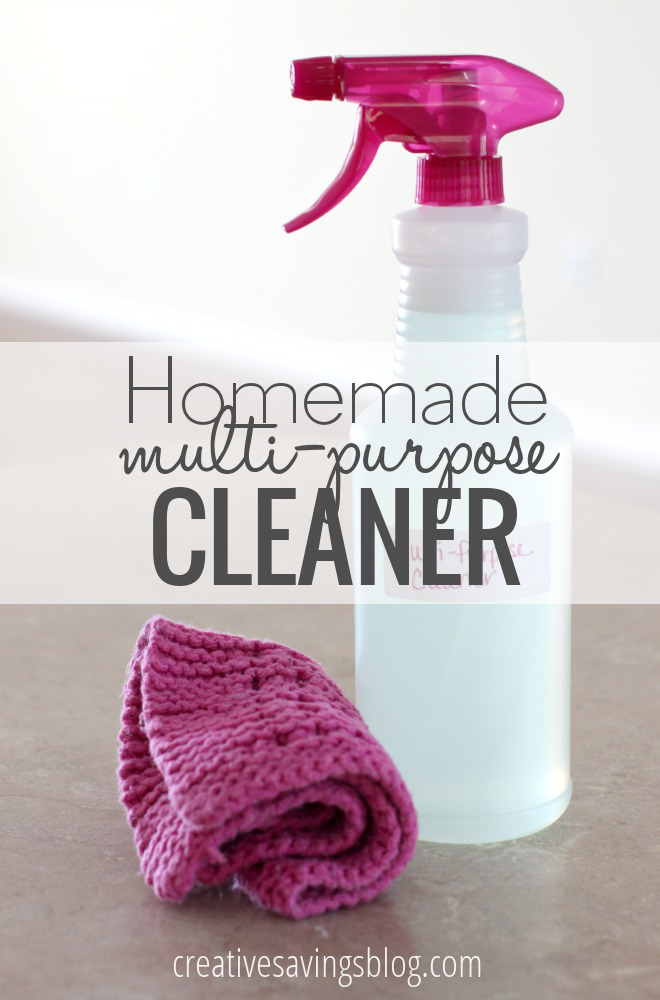 Homemade Multi-Purpose Cleaner | DIY