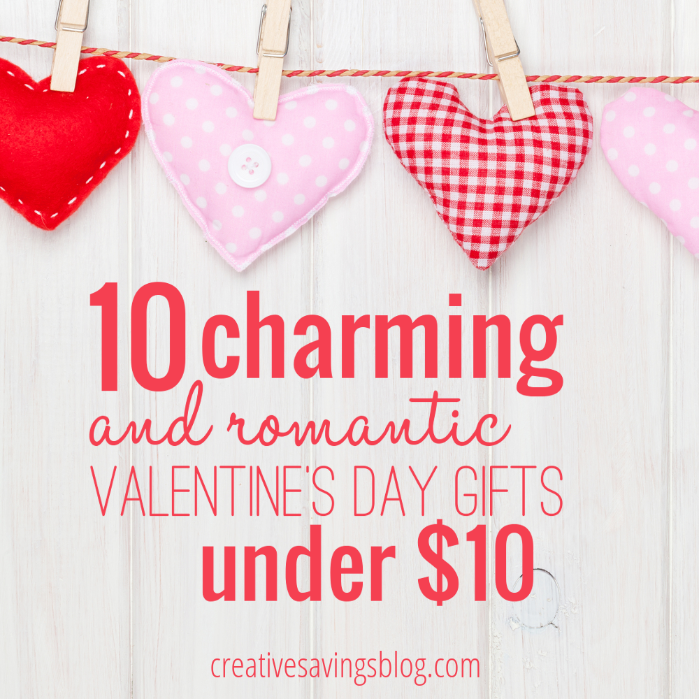 10 charming and romantic valentine u0027s day gifts under 10