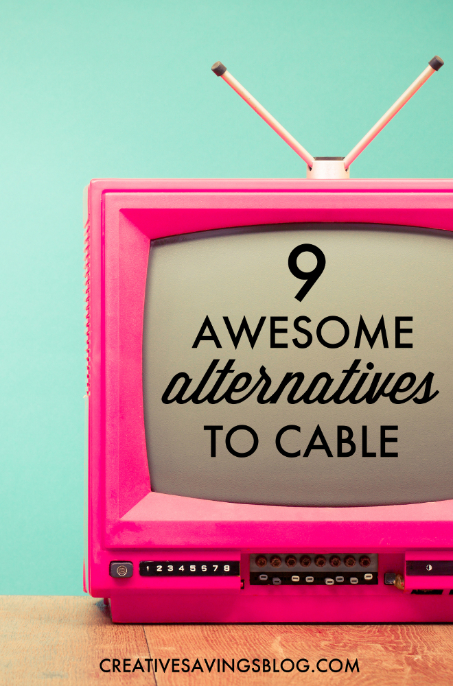 With streaming sites, subscription services, and special bundles are popping up all over the place, it's easier than ever to say goodbye to cable. These 9 awesome alternatives will keep more money in your pocket, and give you even greater entertainment options than you could ever ask for!