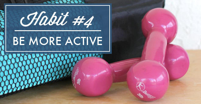 It's time to get that body moving! Improve overall health and establish a regular exercise routine with this month's habit. Just 30 minutes of exercise 3 times a week can make a BIG difference, not only for your health, but for your mind too!