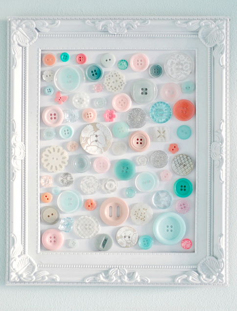 Button Artwork | Frugal Uses for Buttons