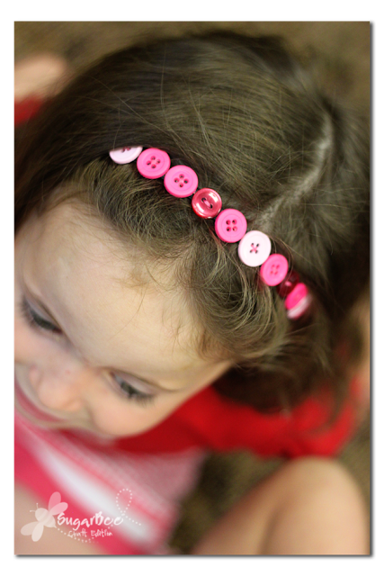Button Headband | Frugal Uses for Buttons