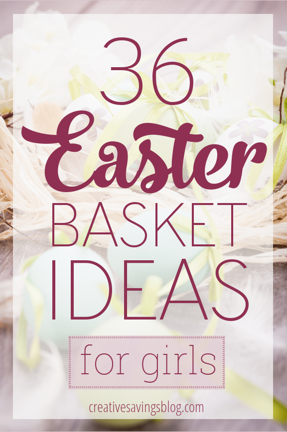 Springtime is just around the corner, which means it's time to think about what to put in all those Easter baskets! These 50 fun and creative Easter basket ideas for girls cost less than $5, and don't include any sugar or chocolate!