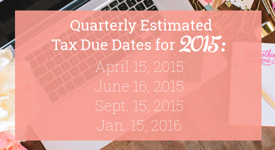 Estimated tax payments due dates in Australia