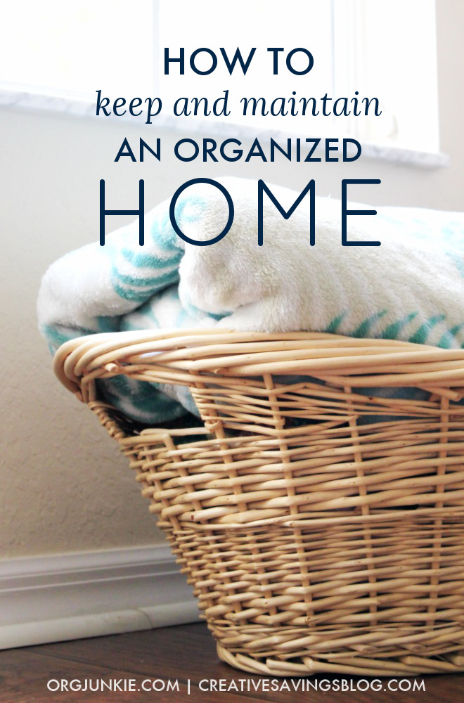 Organizing my home has always been one of my major downfalls. It seemed like as soon as I organized a small space, it came up cluttery again!! Ugh. But I tried these six short steps to clutter-free living and have been AMAZED at how I've finally turned my home into a haven the whole family enjoys! #organization #organizedhome #organizationhacks #housekeeping #homemaking