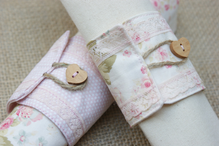 Button Napkin Rings | Frugal Uses for Buttons