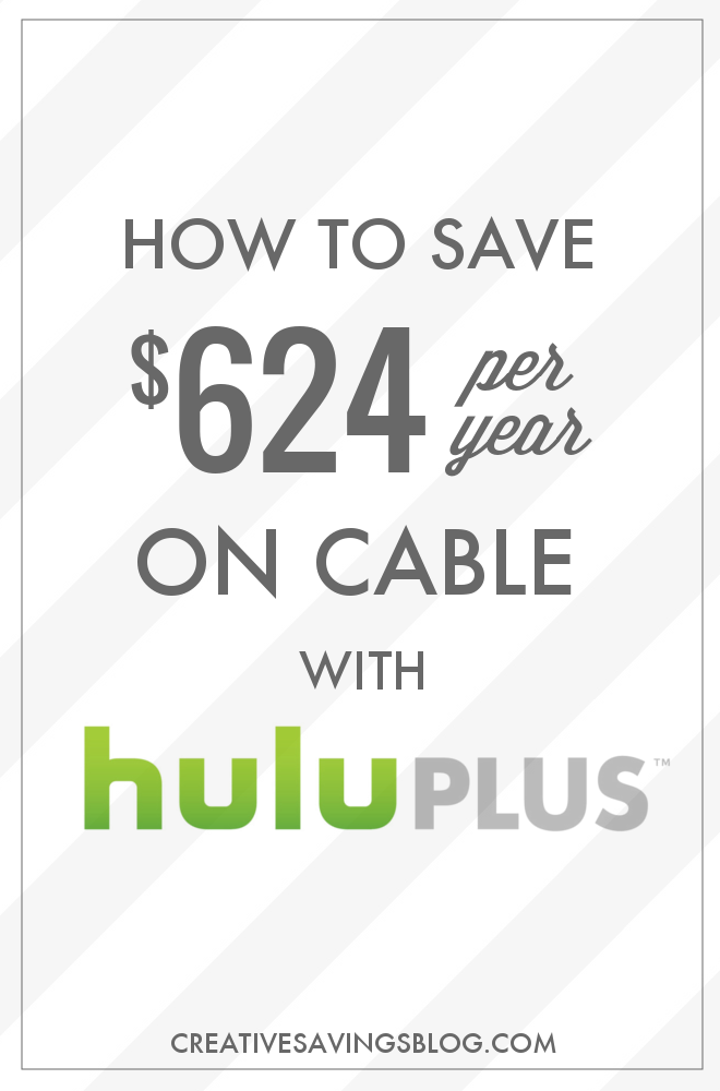 With streaming sites, subscription services, and special bundles are popping up all over the place, it`s easier than ever to say goodbye to cable, but how do you know if these cable TV alternatives are even worth it? See how this blogger saves $624 per year simply by cutting cable and snagging a Hulu subscription instead!