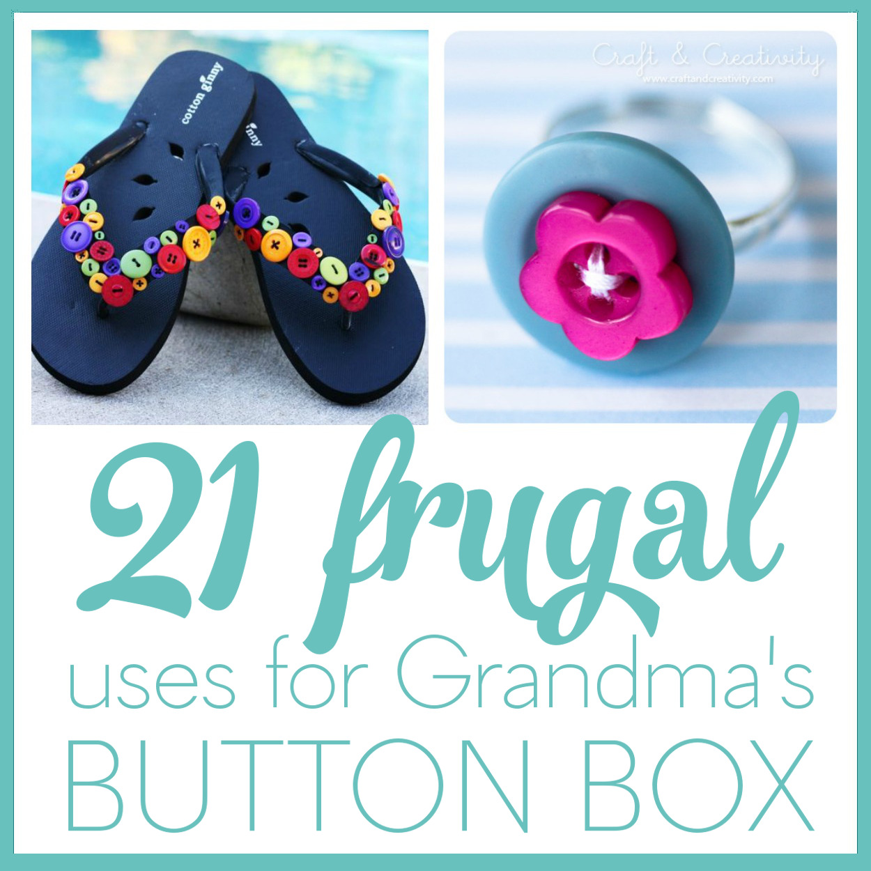 95865949f 21 Frugal Uses for Old Buttons