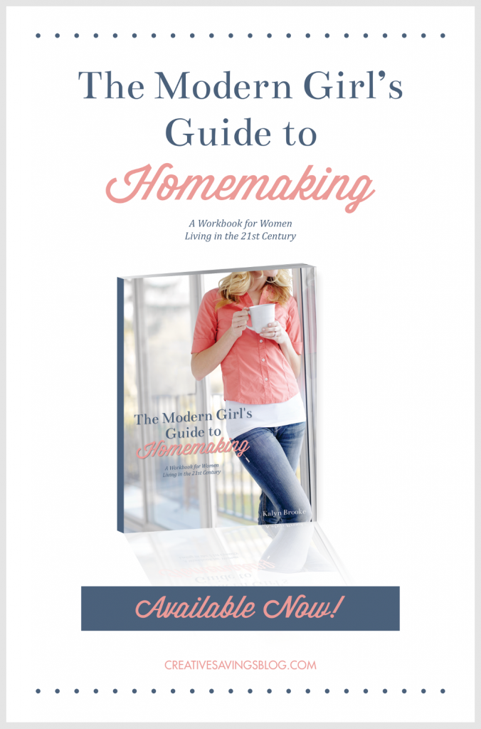 Have you ever wondered how to manage your home without turning into a 1950`s housewife? The Modern Girl's Guide to Homemaking is a 19-page workbook that shows you how to run a successful home in the 21st century, and fits with your busy lifestyle and schedule!