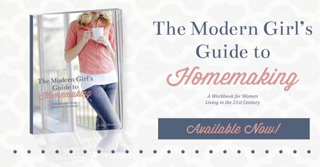 The Modern Girl's Guide to Homemaking {Available Now}
