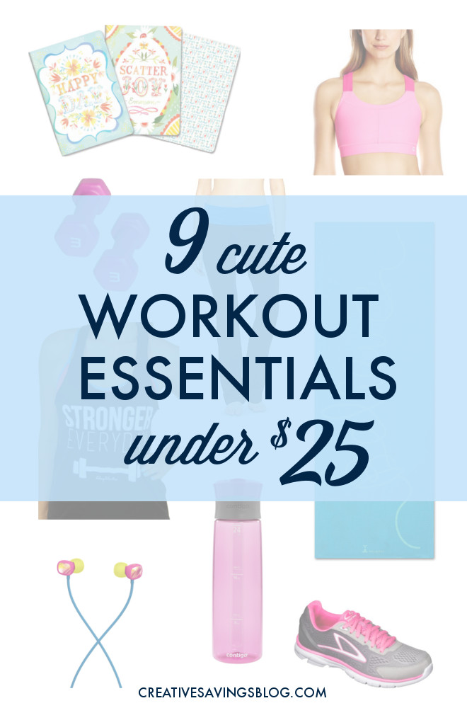 6253d63d083235 You don't need expensive supplies to exercise! This list features all of my