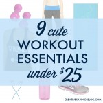 9 Cute Workout Essentials Under $25