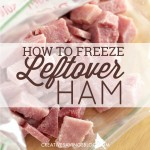 How to Freeze Leftover Ham