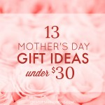 13 Mothers Day Gift Ideas Under $30