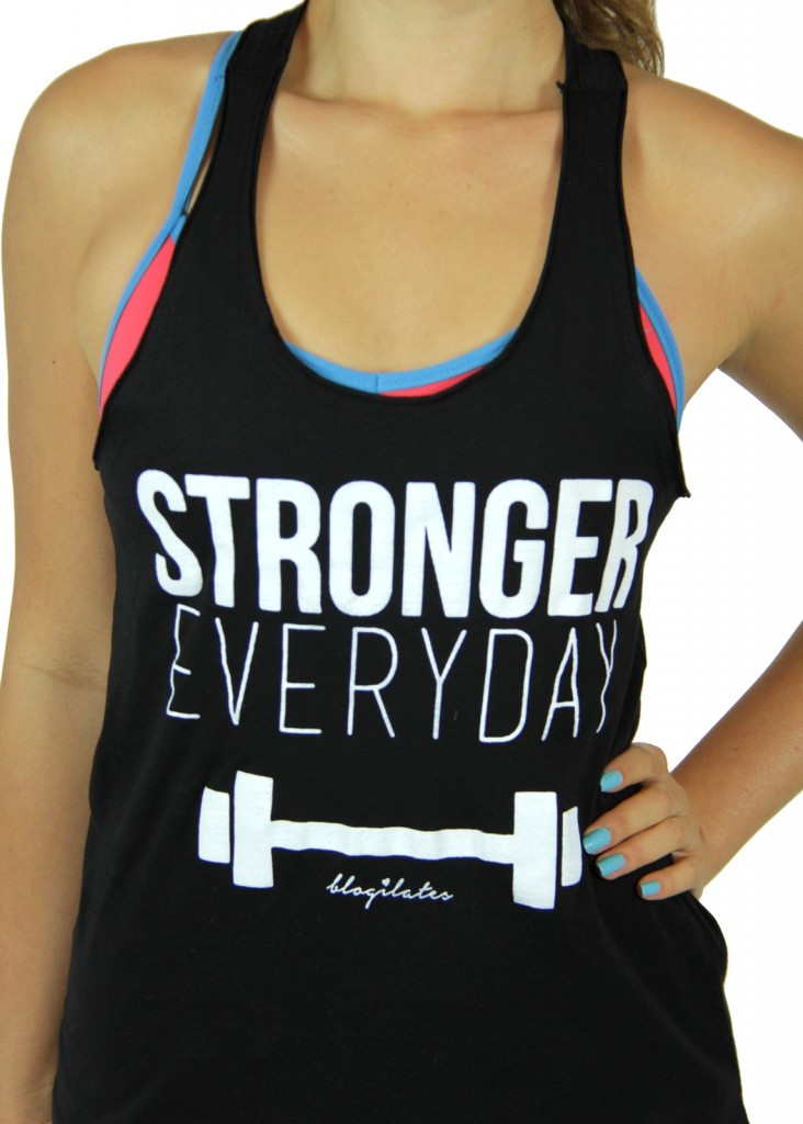 Stronger Inspirational Tank | Cute Workout Essentials | Kalyn Brooke