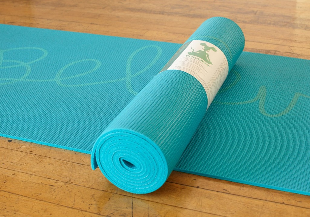 Believe Yoga Mat | Cute Workout Essentials | Creative Savings Blog