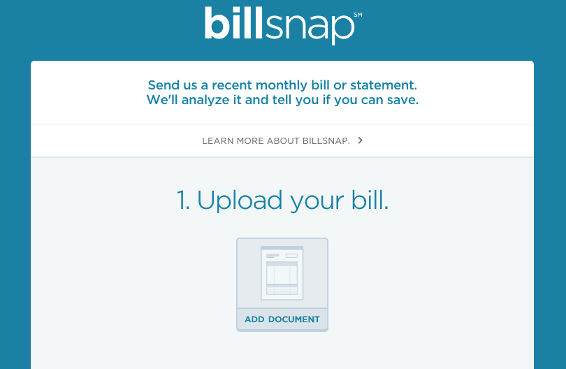 Billsnap from Cinch Financial