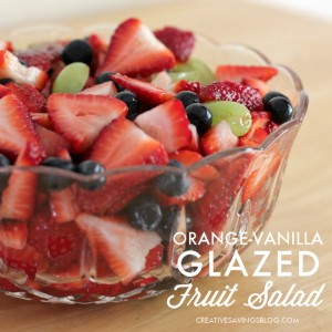 Orange-Vanilla Glazed Fruit Salad