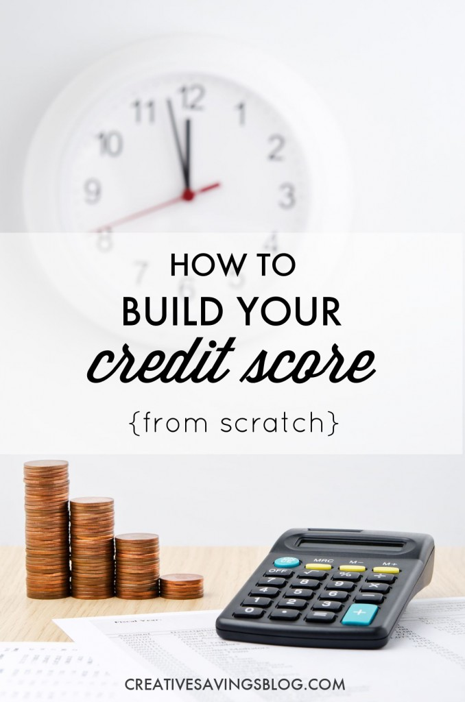 How to build your credit score build good credit Borrowing money to build a house