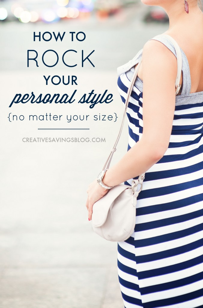 If lack of time, money, effort, or a consistent waistline is keeping you from looking your best, you're going to love these tips to find {and rock!} your personal style. Be careful though, you might just find yourself enjoying your journey to fashion more than you thought you would!