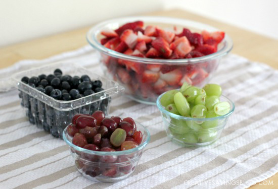 Orange-Vanilla Glazed Fruit Salad Recipe   Creative Savings