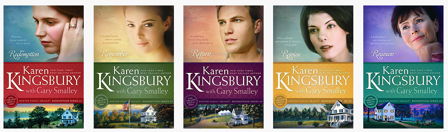 The Redemption Series by Karen Kingsbury