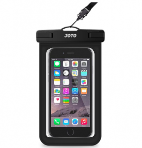 waterproof phone case in black