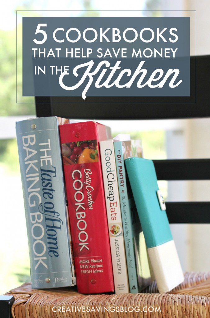 I know eating at home is WAY more cost-effective than eating at a local restaurant or grabbing takeout, but I've struggled coming up with recipes that fit my family. Some days, I don't even want to cook! These 5 cookbooks offer loads of simple meals and look like they could be just the thing to push me out of my cooking rut! #eatingathome #cookathome #moneysavingtips #bestcookbooks #favoritecookbooks