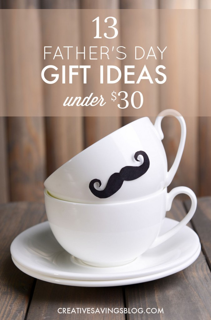 My dads can be so hard to buy for, but I bet he would just love #9! Plus, all of these ideas come in under my $30 budget!  #giftideasfordad #giftideasforfathersday #fathersdaygiftideas #giftsfordad #dadgifts #frugalgiftideas #fathersday