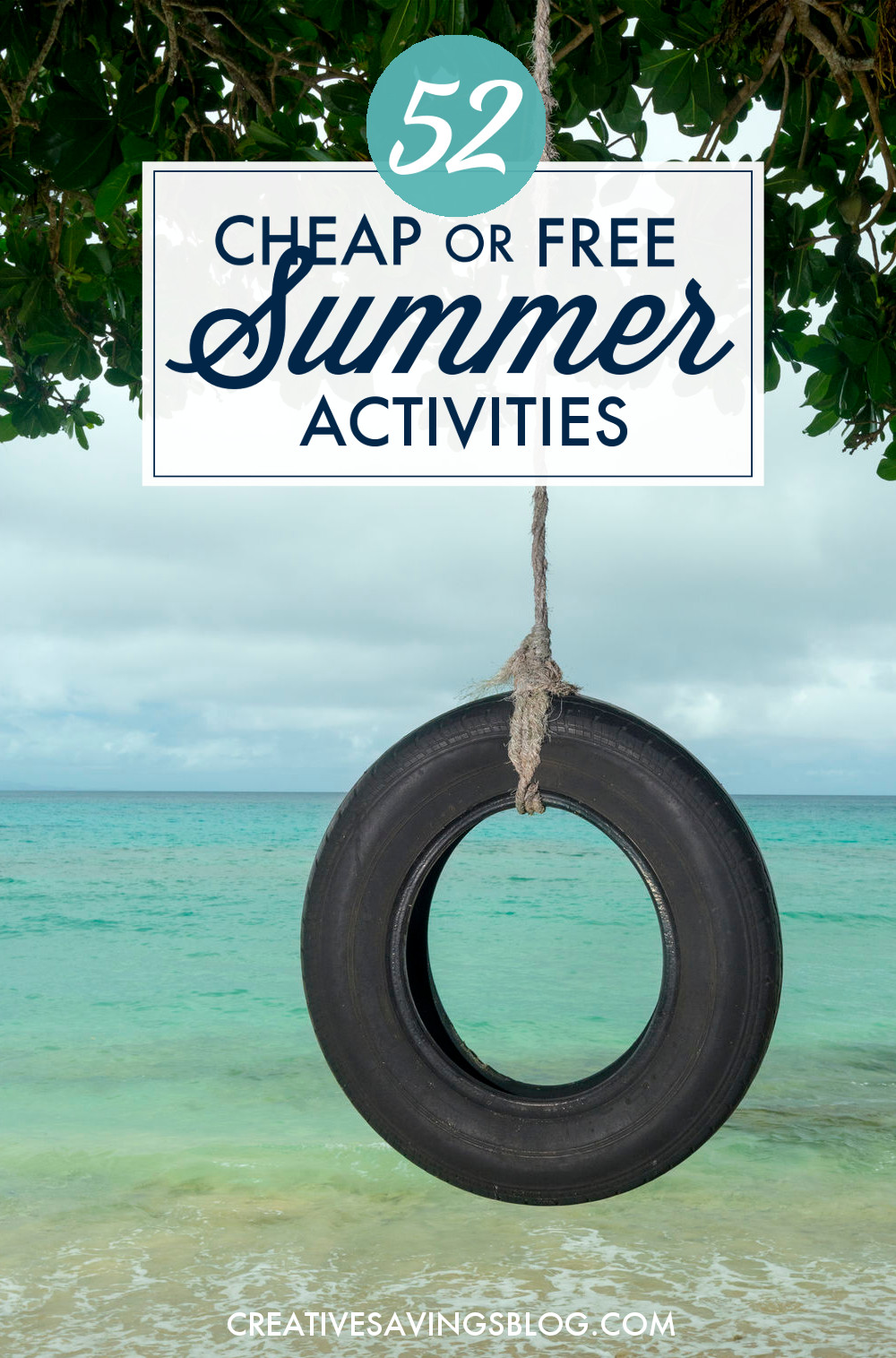 The dog days of Summer are finally here, and while relaxation is a definite must, you'll also want to plan a few activities too. These 52 Cheap or Free Summer Activities for kids and adults don't cost much at all, but leave LOTS of room for imagination and pure family fun! Includes a printable checklist to hang on your fridge so you'll never run out of ideas!