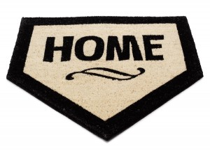 Home Plate Mat | Fathers Day Gift Ideas